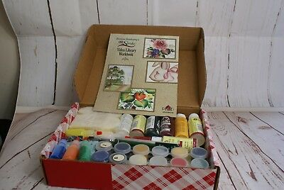 """Plaid Folkart One Stroke Donna Dewberry """"Video Library Painting Series Kit"""