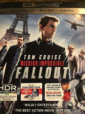 mission impossible fallout. ( 4k , Blu-Ray, Digital. )