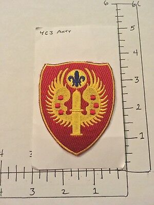 Large Vintage Us Army 463Rd Patch