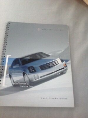 2003 Cadillac CTS/ Escalade EXT details book training participant guided