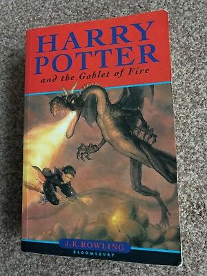 Harry Potter and the Goblet of Fire (Book 4) by Rowling, J. K.