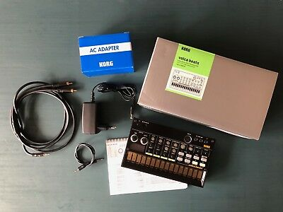 KORG volca beats, analog drum synthesizer, inkl. Originalnetzteil & Kabel + OVP