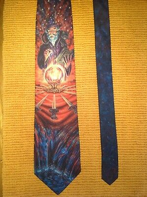 The Wizard Sorcerer Merlin Necktie Tie Dem Crazy