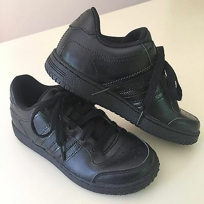 """ADIDAS Awesome BOYS Black  """"Superstar C Sneakers"""" 13,5 Little Kids, NEW!"""
