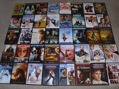 LOT OF (40)  MOVIE DVDs. ACTION, COMEDY, DRAMA & MORE. GOOD CONDITION.