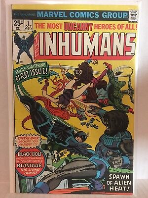 Inhumans Comic Lot 1-12 Marvel Blackbolt Medusa