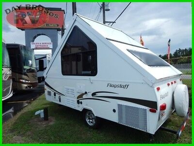 2012 Forest River Flagstaff Hard Side T12DDST Used RV Pop-Up Travel Trailer