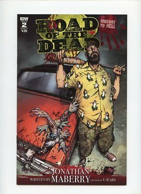 Road of the Dead Highway to Hell #2 IDW Comics Cover A Buy More and Save!