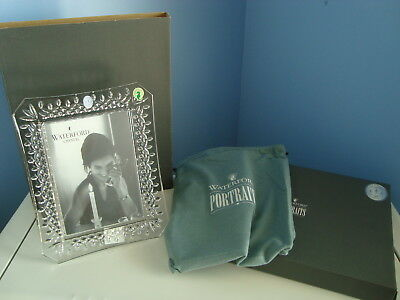 Waterford Portraits LISMORE Crystal Photo Picture Frame 5 x 7 New in Box
