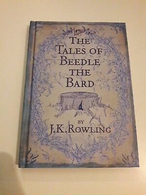 The Tales of Beedle the Bard, J K Rowling (Harry Potter)1st Edition 1st Printing