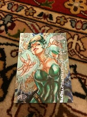 Marvel Premier 2012 Artists Proof Enchantress Sketch Card AP Adriana Melo