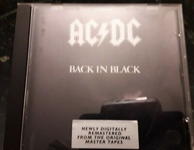 AC/DC - Back in Black - Musik CD