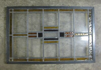 Leaded Stained Glass Window - Transom - Mid-size