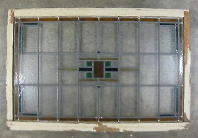 Leaded Stained Glass Window - Transom - Large