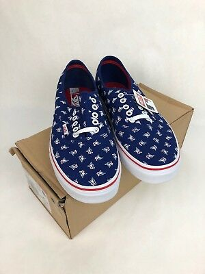 f5811c0f411 New VANS MLB Authentic Toronto Blue Jays Shoes Size 10 Mens - FSTSHP