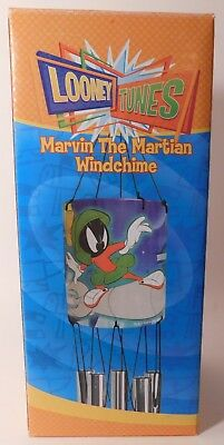 1 New Old Stock WINDCHIME the Looney Tunes MARVIN THE MARTIAN Character