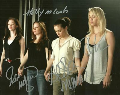 Charmed  Cast 8 By 10 Inch Full Gloss Signed Picture  C.o.a.