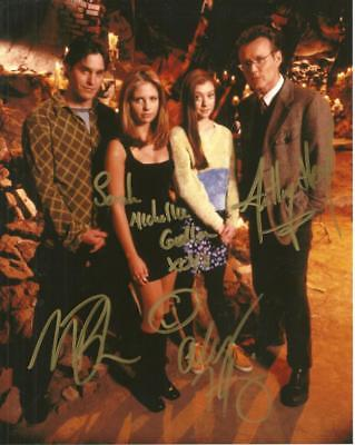 Buffy  Cast 8 By 10 Inch Full Gloss Signed Picture  C.o.a.
