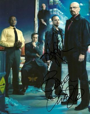 Breaking Bad Cast 8 By 10 Inch Full Gloss Signed Picture  C.o.a.