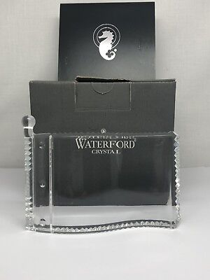 Waterford Crystal Pin Flag Paperweight