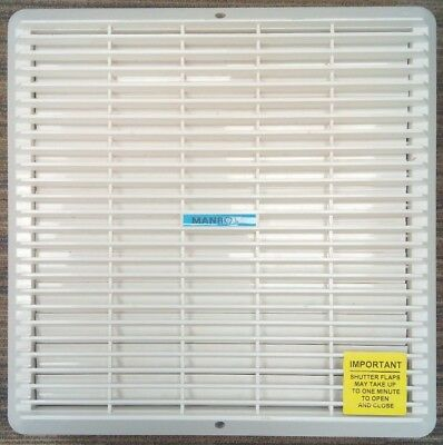 Used - Manrose XFS300MP 300mm Extractor Fan with Pullcord