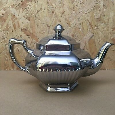 Vintage Sutherland Silver Lustre Tea Pot - Perfect for Christmas Teas!