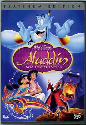 Aladdin DVD 2-Disc Set, Platinum Edition Disney Region 1