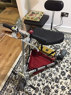 TravelScoot Deluxe lightweight, foldable 3-wheeled mobility scooter