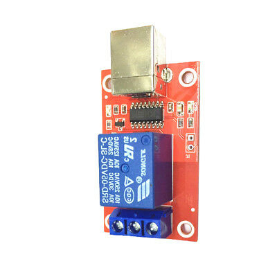 General Purpose Relays 8-channel 12 V USB Relay Board Module