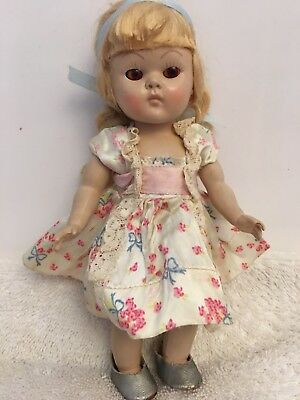 Vintage Early Tagged Vogue Ginny Dress Outfit Only No Doll