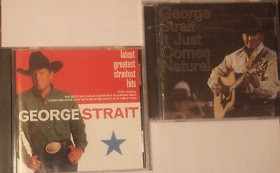 George Strait - Latest Greatest Straitest Hits It Just Comes Natural 2 CD SET