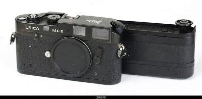 Camera Body Leica M4-2 With Winder