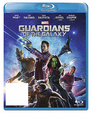 Guardians Of The Galaxy Blu Ray