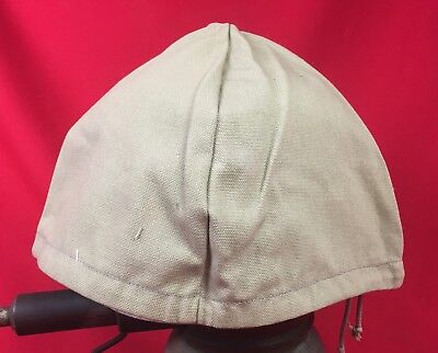 Ww2 Italian Fascist Tropical Helmet Cover Original Wwii