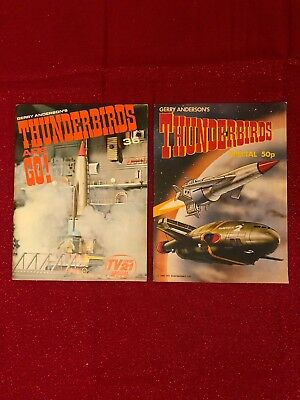 Gerry Andersons Thunderbirds Are Go! 1966 Tv 21 Century Special Comic +Another