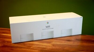 Google - Google Wifi AC1200 Dual-Band Mesh Wi-Fi System (3-Pack) - White