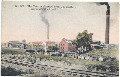 Ivorydale, Cincinnati, Oh: 1910: View Of The Proctor And Gamble Soap Plant