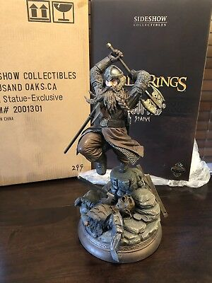 Gimli the Dwarf Statue - Lord of the Rings - Sideshow Exclusive #299/500 LOTR
