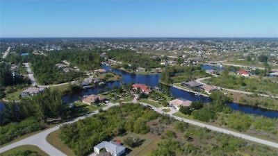 Port Charlotte, Florida Residential Lot With Power, Water And Sewer!!