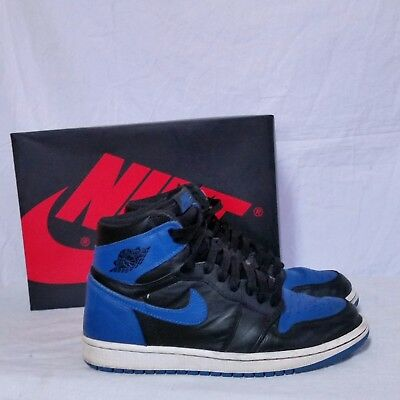 Nike Air Jordan 1 Retro High OG Royal Blue 2017 SBB Bred Chicago Shadow Mens 8
