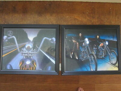 TWO FRAMED DAVID MANN,BOBBERS  PRINTS COPIES reprints check it out