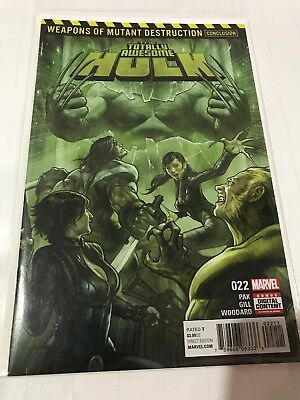 Totally Awesome Hulk 22 Weapon-H NM