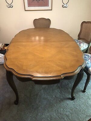 vintage 9 piece solid cherry dining room set