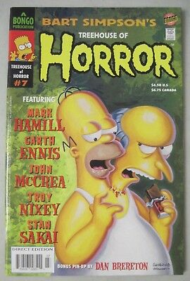 The simpsons comic book TREEHOUSE OF HORROR #7