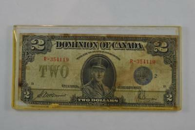 1923 Dominion of Canada $2 Two Dollar Bill R 354119 McCavour-Saunders - Ungraded