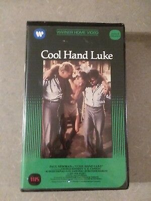 Cool Hand Luke VHS Warner Home Video Paul Newman 1967 Great Condition