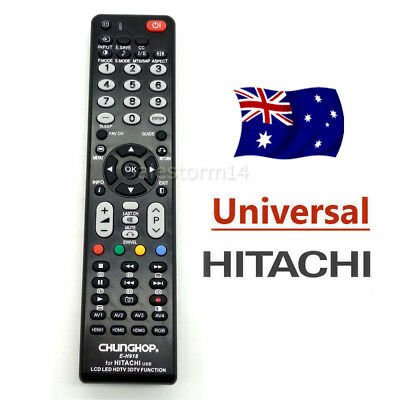 Universal TV Remote Control For Hitachi LCD LED 3D HD Smart TV Replacement NEW