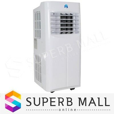 Portable Reverse Cycle Air Conditioner Fan Heater Dehumidifier Cooling Cooler