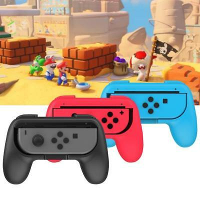 2Pcs/Pack Joy-Con Handle Controller Grip Handheld Holder For Nintendo Switch UK