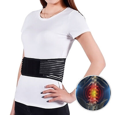 Lumbar & Lower Back Support Belt Brace Strap Pain Relief, Posture Waist Trimmer